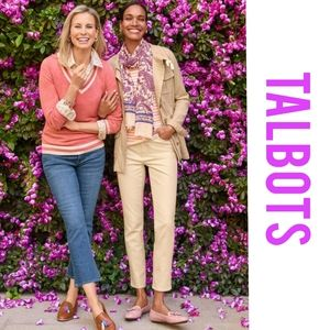 Talbots, crop, flair, ankle, cropped, cabri, short